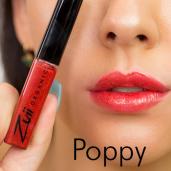 Luciu organic pentru buze cu ulei de trandafiri, Poppy