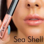 Luciu organic pentru buze cu ulei de trandafiri, Seashell