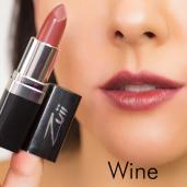 Ruj organic cu ulei de trandafiri, Wine