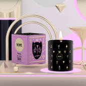 Lumânare parfumată, cu tămâie și zmeura - YOPE