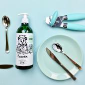 Soluție naturală pentru spălat vasele, cu castravete - YOPE